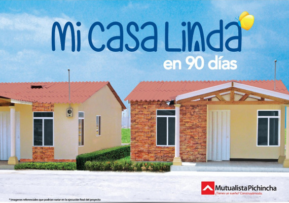 Proyecto mi casa linda for Km 16 via daule