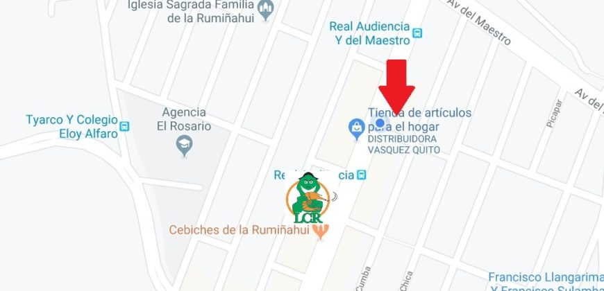 Vendo Casa Comercial Quito Av Real Audiencia